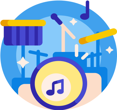 music streaming service - live music show
