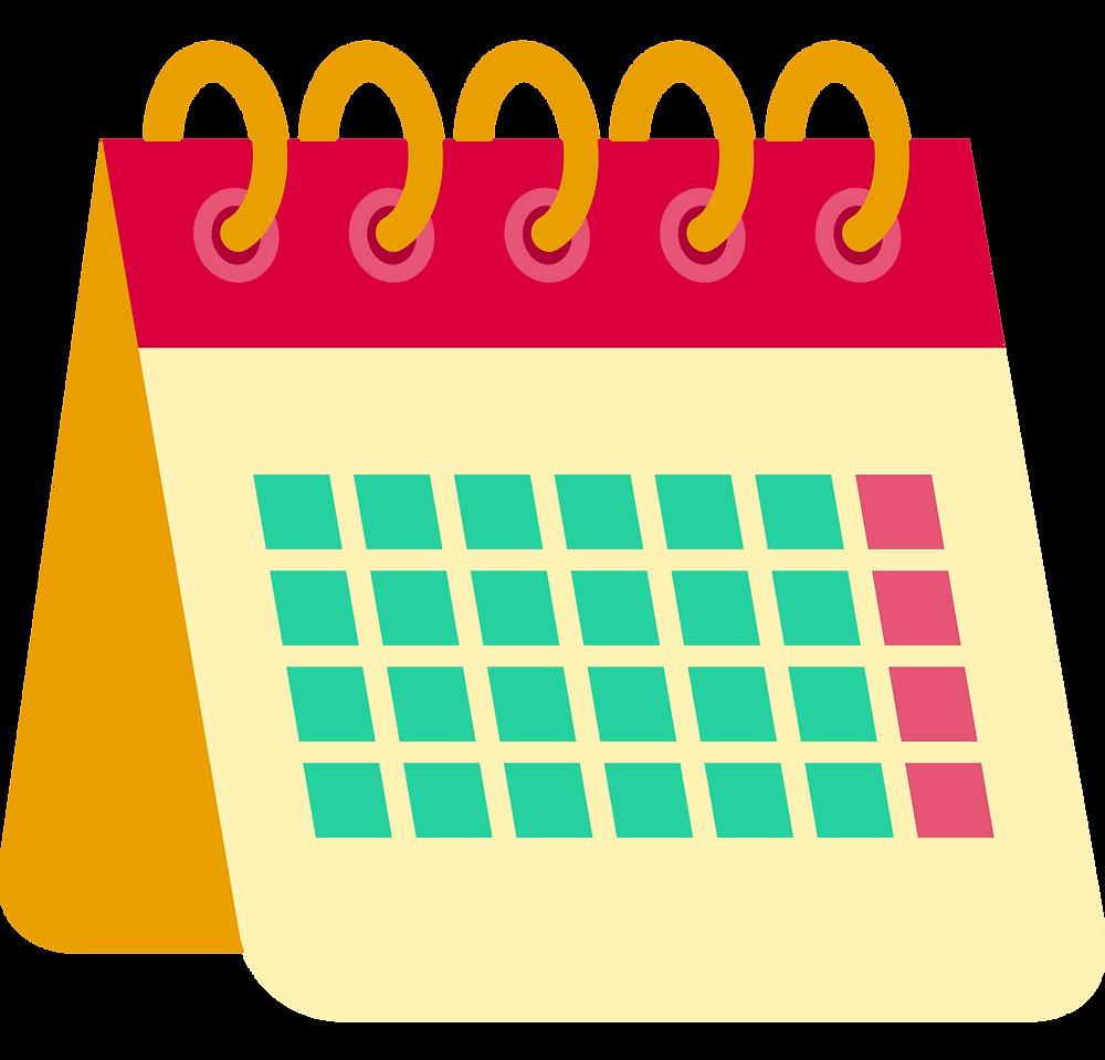 No-Spend Challenge: a monthly calendar