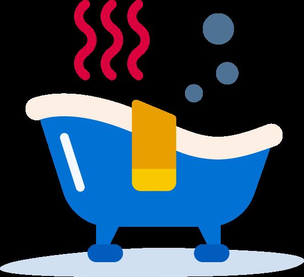 Honeygain payout - a relaxing bath