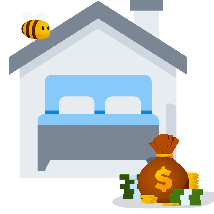 passive income - renting on airbnb