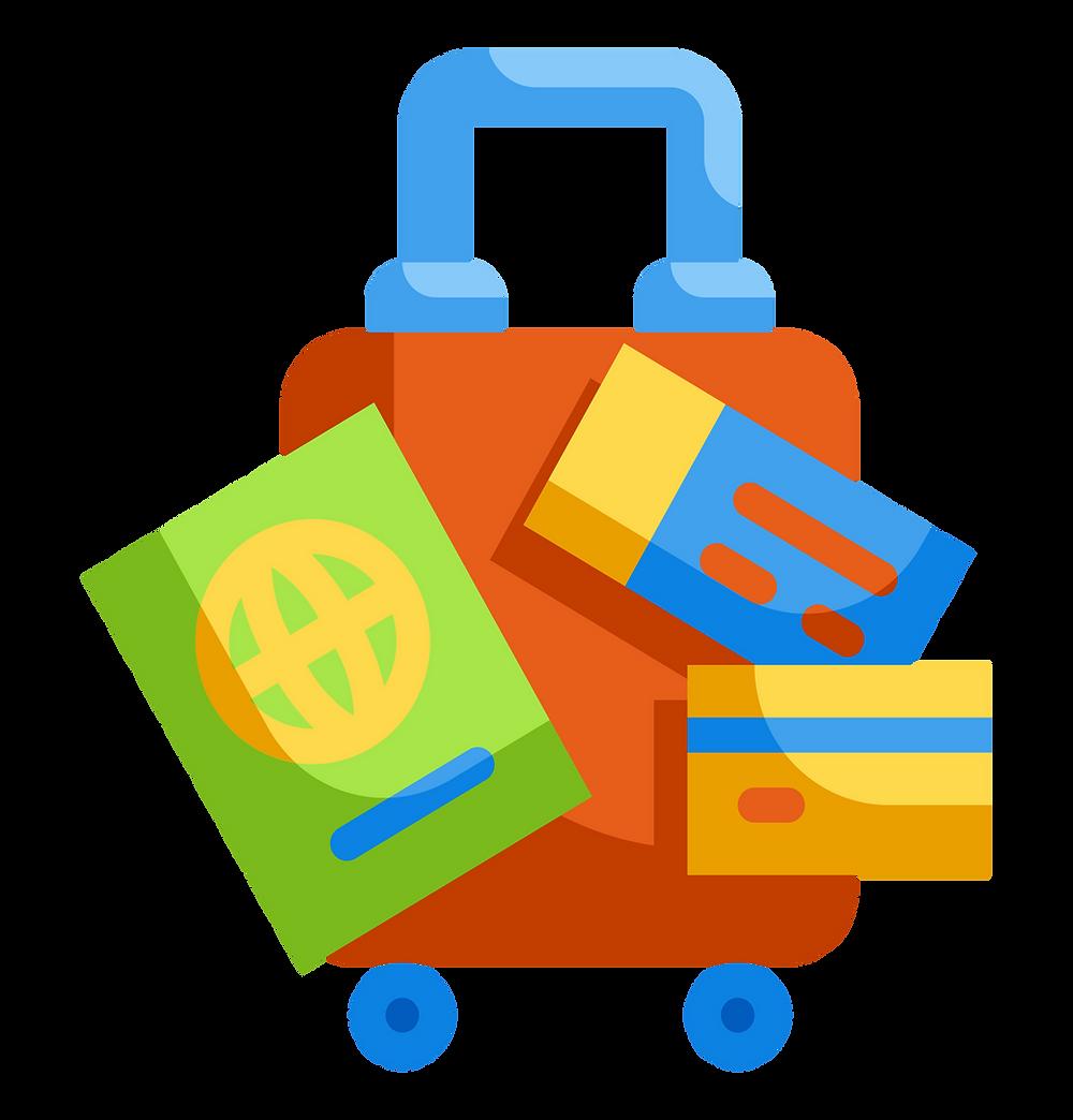 travel hacks: suitcase