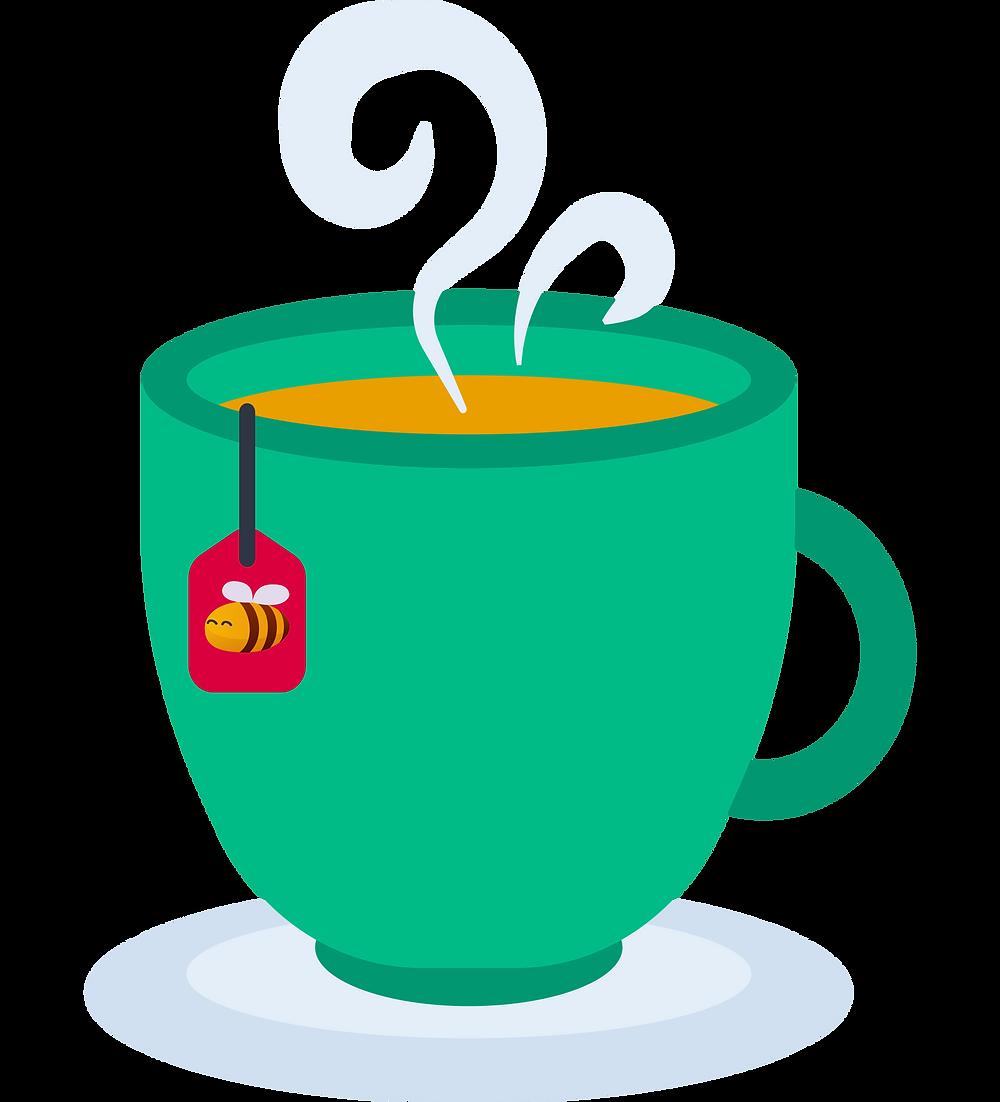 hyggelig: a cup of tea