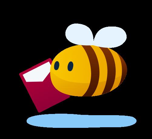 outdoor activities - a reader bee