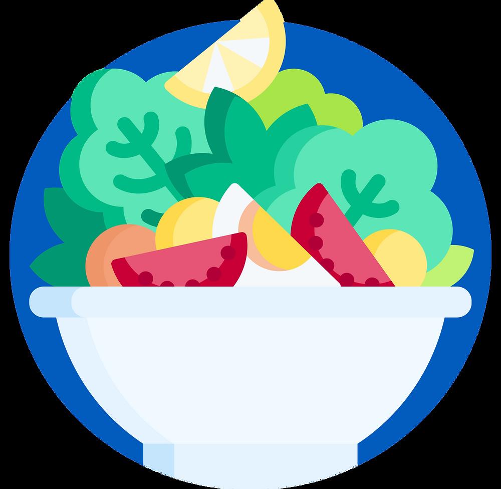environmental impact: salads
