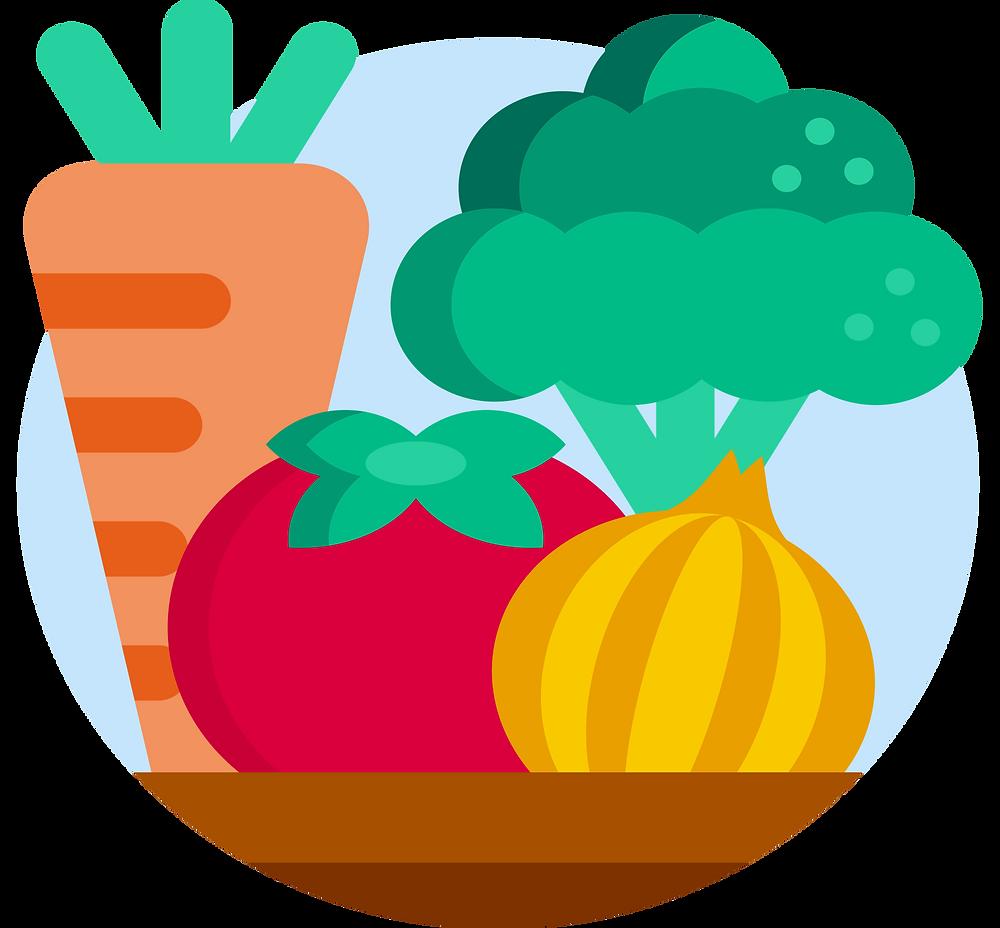environmental impact: seasonal vegetables