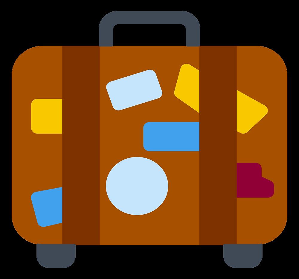 travel hacks: big suitcase