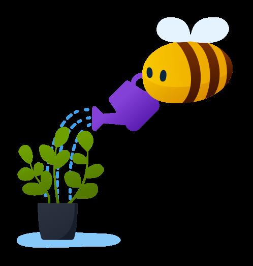 outdoor activities - bee the gardener