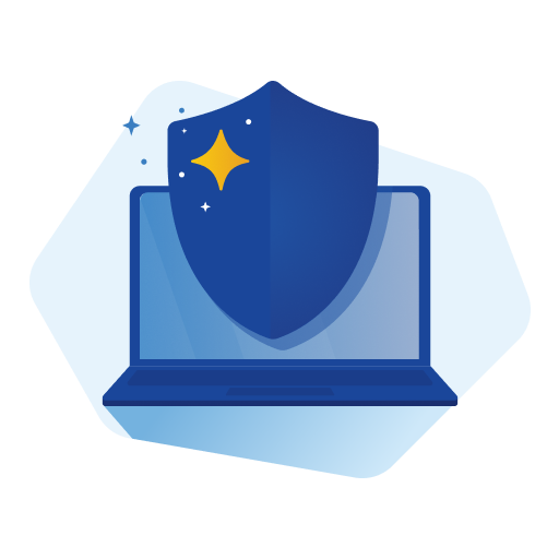 online safety: a laptop is safe