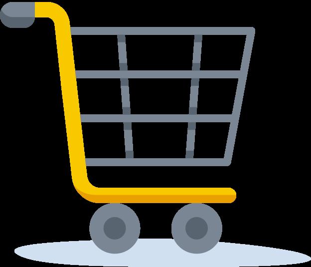 lifestyle inflation: shopping cart