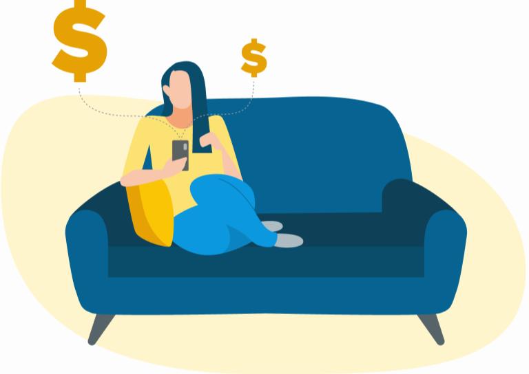 clicking ads vs honeygain: earning on the sofa