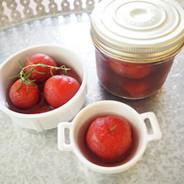 プチトマトの赤ワイン漬け