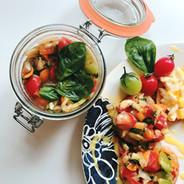 野菜いっぱい バルサミコソース