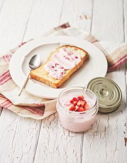 イチゴとクリームチーズのスプレッド