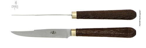 ミッシェル&アンドレブラステーブルナイフ4本セット T4 BRASC FRD