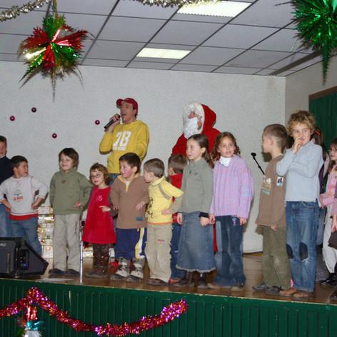 2007 - Gala Noël à Thones.