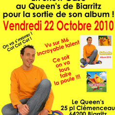 2010 - Affiche pour le Queen's !