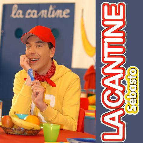 """1er projet de pochette """"La Cantine"""" par M6"""