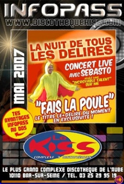 2007 - Affiche Le Kiss