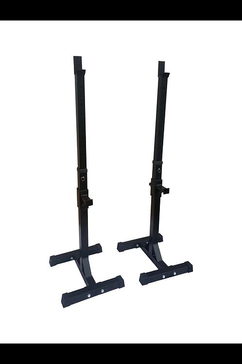 S28 Adjustable Squat Stand Pair