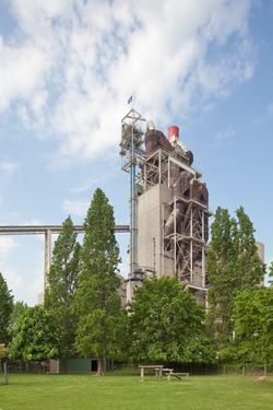 HC's Lixhe Calciner Tower