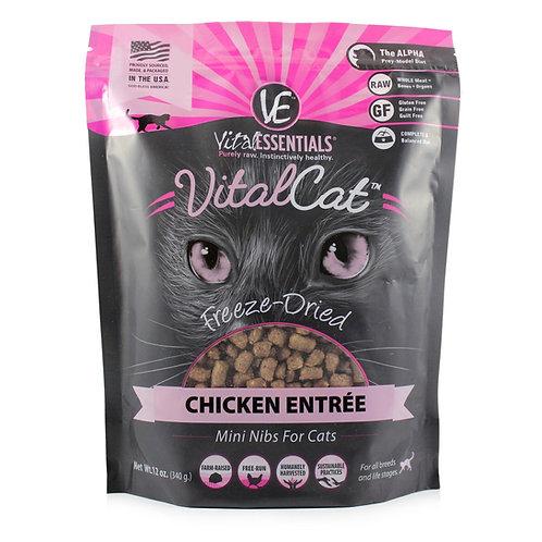 VitalCat Freeze Dried Chicken Entree - 12 oz