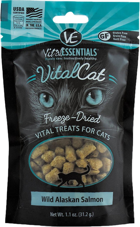 Vital Essentials Freeze-Dried Salmon Treat - 1.1oz