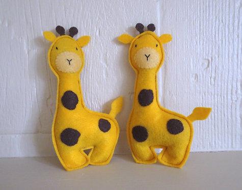 Feline Fun Catnip Giraffe Toy