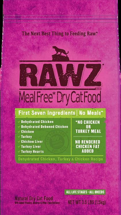 RAWZ Dehydrated Chicken, Turkey & Chicken Recipe