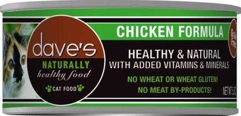 Dave's Naturally Healthy Grain-Free Chicken Formula