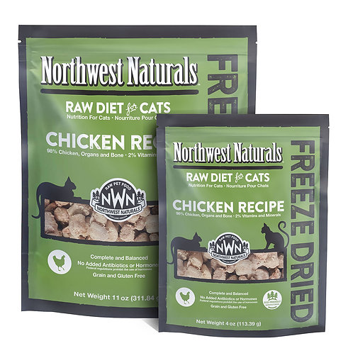 Northwest Naturals Freeze Dried Chicken Recipe for Cats