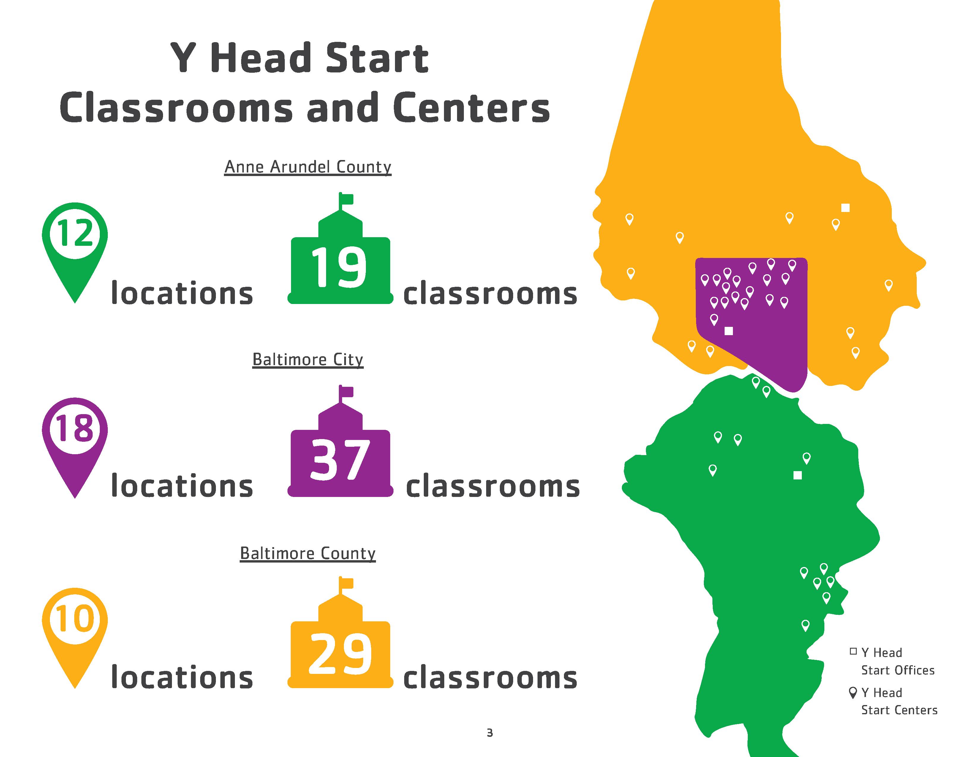 Head Start Classrooms & Locations