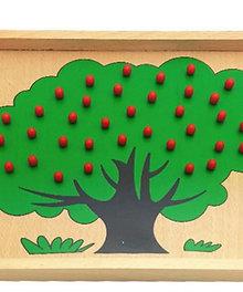 Arbol de manzanas para conteo