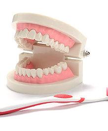 Práctica de higiene dental