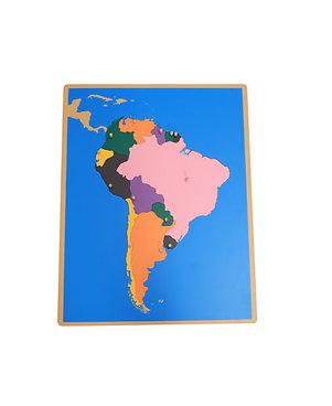 Mapa Puzle Sudamérica