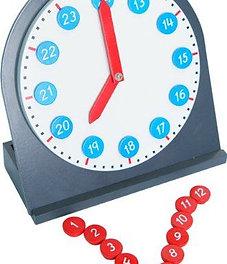 Reloj de brazos móviles