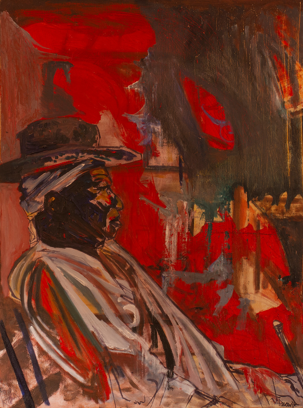 Voodoo Man by Ray Favourite, Oil on Canvas