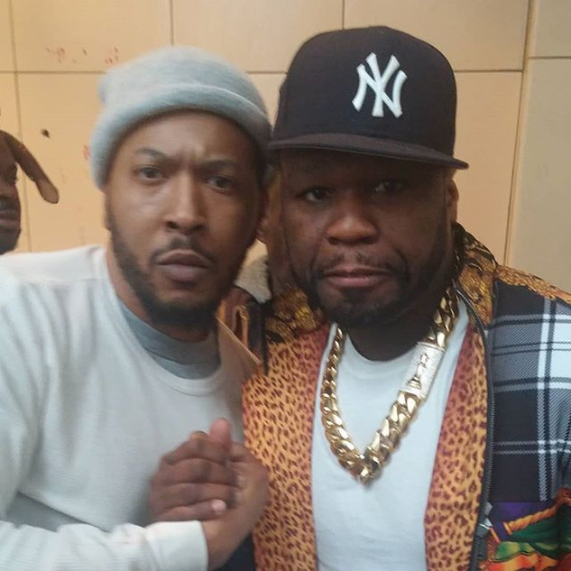 Salute to the homie @50cent on the set t