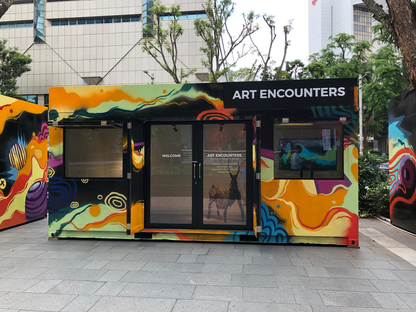 Art Encounters Container Art Gallery