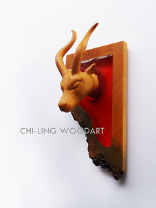 Ears and Horns sculpture