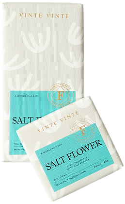 VINTE VINTE Tablete Chocolate Negro 70% c/ Flor de Sal