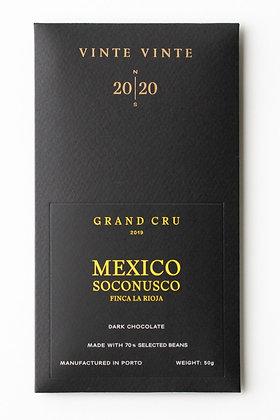 VINTE VINTE Tablete Grand Cru México-Soconusco-Finca La Rioja-2019 70% 50g