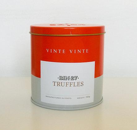 VINTE VINTE Lata Trufas Vinho do Porto BIN27 150g