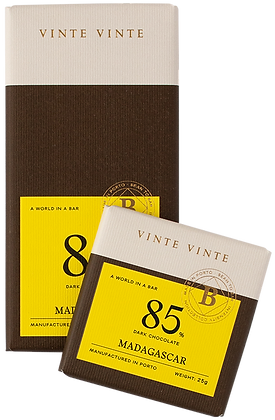 VINTE VINTE Tablete Chocolate Negro 85% Madagáscar