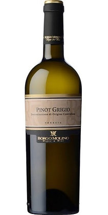 BORGO MOLINO PINOT GRIGIO BRANCO 750ml - Itália