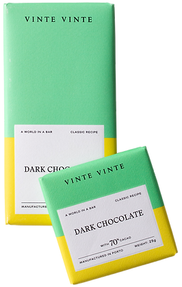 VINTE VINTE Tablete Chocolate Negro 70%