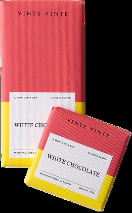 VINTE VINTE Tablete Chocolate Branco