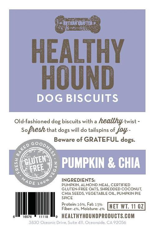 Pumpkin Chia Biscuits