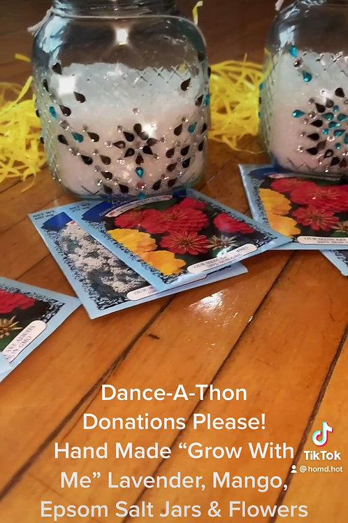 DANCE-A-THON Mason Jars