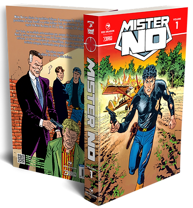 Mister No vol 1 Red Dragon Publisher