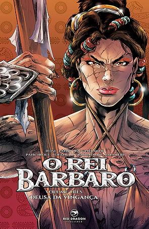 O Rei Babaro vol 3 Red Dragon Publisher.